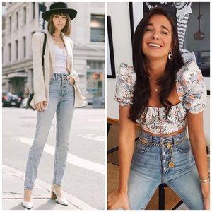 JOE'S JEANS x WEWOREWHAT Danielle High Rise Jeans